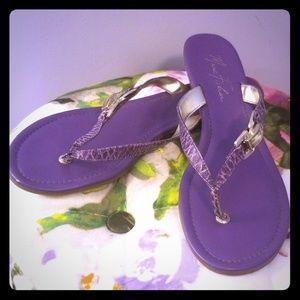 Marc Fisher Purple sandals